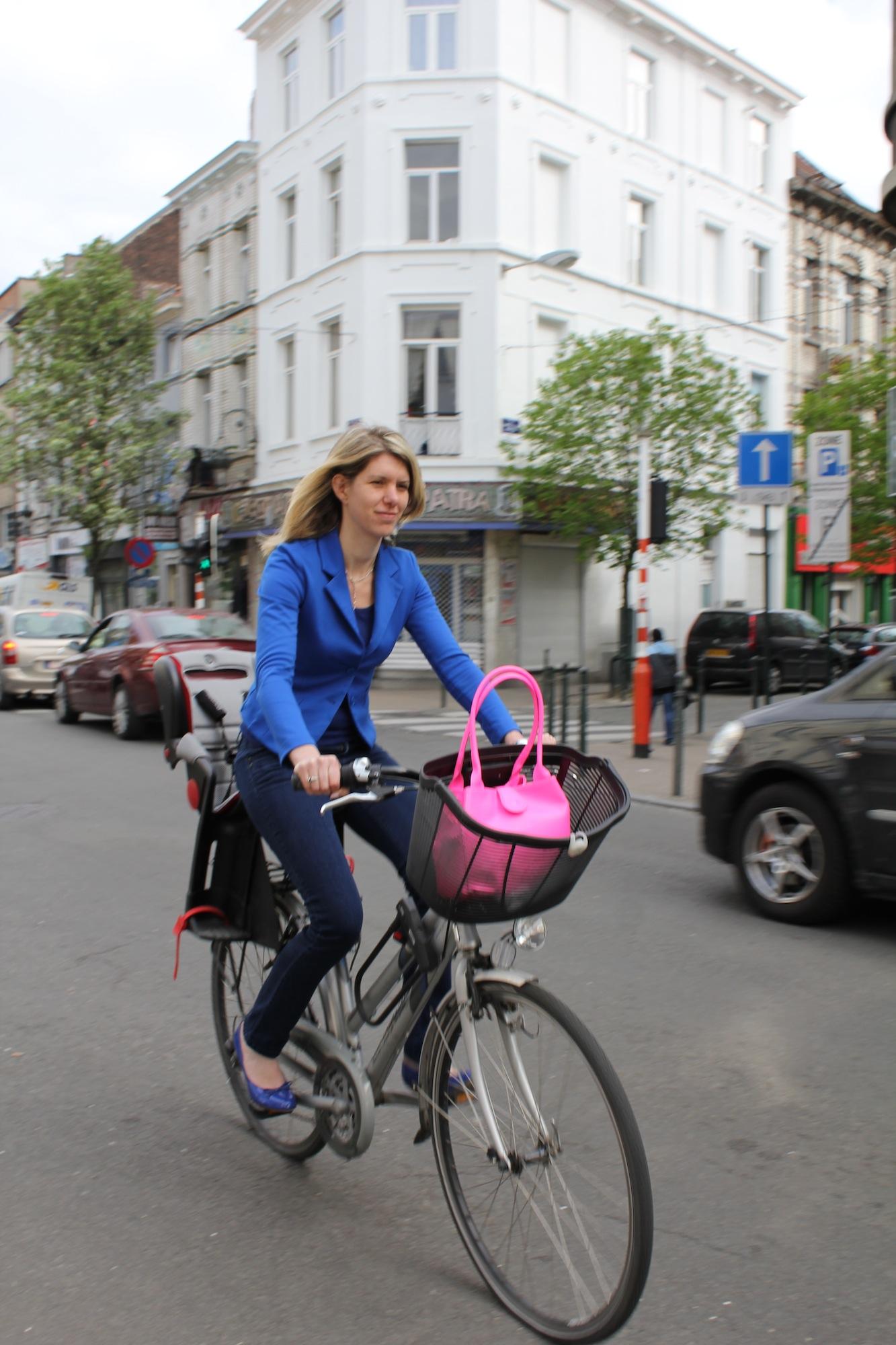 Els Ampe à vélo